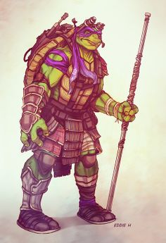 TMNT - Donatelo Redesigned by Eddie Holly