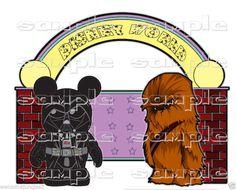 Disney World Star Wars ( Disney ) Paper Piece For Scrapbook