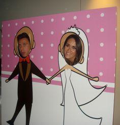 En todos los grandes eventos nos encontramos con un photocall, así que tu boda no va a ser menos!