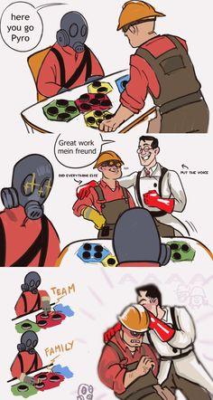 Tf2 Funny, Stupid Funny Memes, Haha Funny, Funny Cute, Tf2 Comics, Team Fortress 2 Medic, Tf2 Memes, Team Fortess 2, Gaming Memes