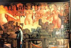 mural de Jorge Gonzales Camarena