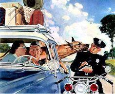 Douglass Crockwell (1904 – 1968) США