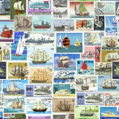 Stamps: boats
