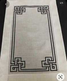 Cross Stitch Borders, Cross Stitch Designs, Cross Stitch Patterns, Celtic Quilt, Crochet Twist, Bargello, Borders And Frames, Easy Crochet Patterns, Blackwork