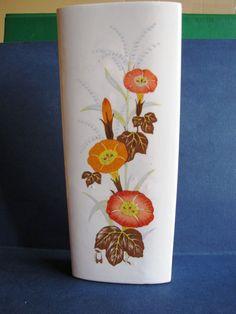 Vintage IL COCCIO ceramic heater humidifier wall vase Italy Flowers