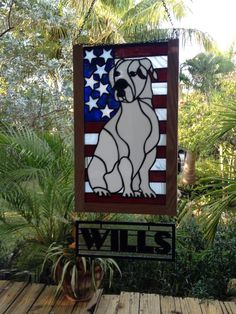 American Bulldog - from Delphi Artist Gallery