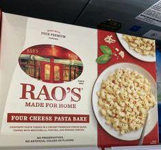 Four Cheese Pasta, Cheese Pasta Bake, Romano Cheese, Frozen Meals, Mozzarella, Parmesan, Preserves, Bread, Baking