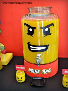 Lego Birthday Party Ideas | Photo 6 of 20 | Catch My Party