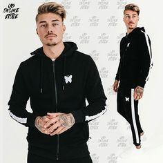 Reposting @ubonlinestore: NEW! Adonis Tracksuit in black for 125.00€. Available in www.ubonlinestore.com⠀ #ubonlinestore #style #menswear #streetstyle #streetwear #fashion #menstyle #urban #urbanstyle #menfashion #instagood #photooftheday #tattoo #hoodies #tracksuit Urban Fashion, Mens Fashion, Streetwear Fashion, Street Wear, Menswear, Street Style, Athletic, Tattoo, Hoodies