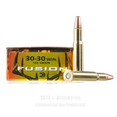 Federal 30-30 Ammo - 20 Rounds of 150 Grain Fusion Ammunition #3030Win #3030WinAmmo #Federal #FederalAmmo #Federal3030Win #FusionAmmo