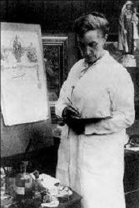 La última prerrafaelita, Eleanor Fortescue-Brickdale (1872-1945) http://www.mujeresenlahistoria.com/2015/05/la-ultima-prerrafaelita-eleanor.html