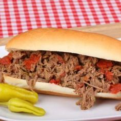 OMG! Copycat Portillo's Italian Beef. Love this place and can't wait to trying out!