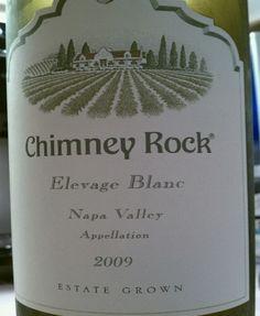 white wine blend under $20- Chimney Rock Elevage Blanc (corkbin)