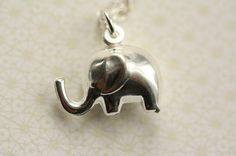 Tiny elephant necklace :)