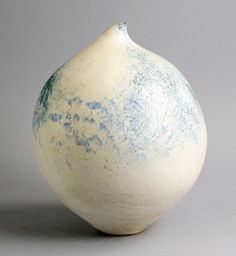 BETTY BLANDINO (British: 1927-2011) - Large Coil-Built Stoneware Vase