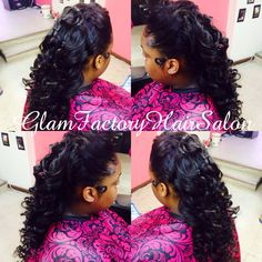 #prom #hair #fancy #style #professional #glam #glamfactory #glamfactoryhairsalon Follow us on Instagram @glamfactoryhairsalon Also check us out on www.styleseat.com... and Our Facebook page - The Glam Factory Hair Salon
