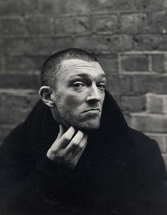 Vincent Cassel doesn't need hair to be cool. (via G the Gentleman)