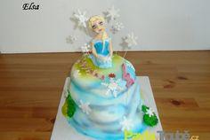 Dětské dorty holky | O pečení Elsa, Disney Princess, Cake, Desserts, Food, Tailgate Desserts, Deserts, Kuchen, Essen