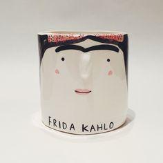 Frida Kahlo Artist Pot