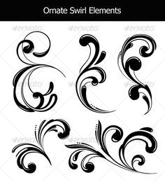 Choosing Scroll Patterns - Free Printables - Just Paint It Blog