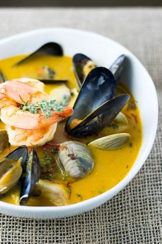 Classic Bouillabaisse Let me just prepare you for the tragic news that is is not aBouillabaisse. No Bouillabaisse prepared outside of the South of France can be. Our recipe is
