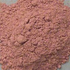 Pink Pipestone (Catlinite) pigment is ground from the mineral gemstone. Native American made pipe from it. Associated with the Sun(God) .
