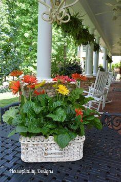 Beautiful Summer veranda from Housepitality Designs.