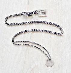 KSZU- Silver Chain Necklace [pr925] Silver Chain Necklace, Personalized Items, Jewelry, Jewlery, Jewerly, Schmuck, Jewels, Jewelery, Fine Jewelry