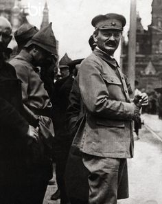Communist Leader Leon Trotsky-creator of the Red Army