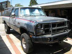 1990 Dodge Ram D250 Club Cab Long Bed 5.9L Cummins Turbo ...