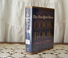 Vintage New York Times Cookbook 1961 Traditional by cynthiasattic, $20.00