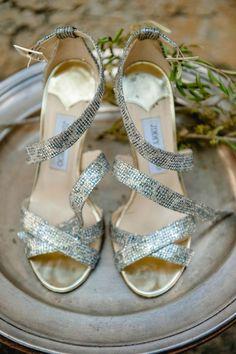 #Hochzeitsschuhe von Jimmy Choo  bei vielen Bräuten sehr beliebt!