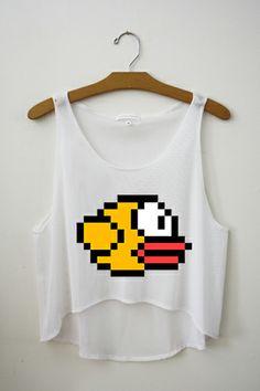 Flappy Bird Crop Top? YASSSS!