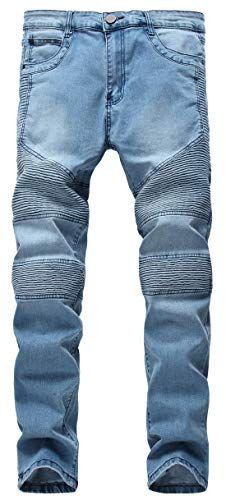 Bluestercool Pantalons Femmes Denim Skinny Pantalons Taille Haute D/élav/é D/échir/é Jeans Stretch