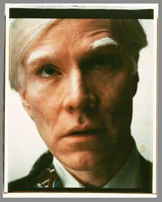 warhol, self portrait