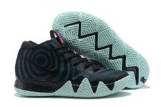 f0cd6c190a9038 Delicate Nike Kyrie 4 Black Laser Fuchsia 943806 007 Men s Basketball Shoes  Irving Sneakers 943806-007