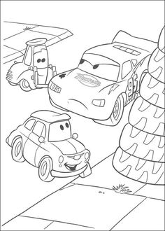 Desenhos para colorir Carros 53