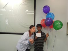 Nithin is one of our Gift Card winners!!  Just in time before the big move :)  We love this guy!!