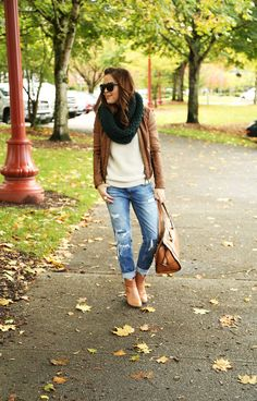 easy weekend look for fall.