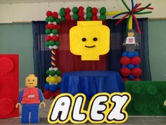 Lego Birthday Party | CatchMyParty.com