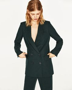 DOUBLE BREASTED JACKET - Available in more colours