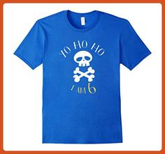 Mens I am 6 pirate birthday shirt Small Royal Blue - Birthday shirts (*Partner-Link)