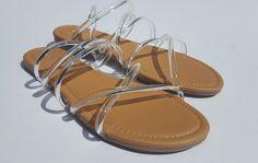 2150db71426 CARLA - Clear Sandal - FINAL SALE. R. Denise