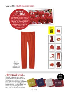Instyle Color Crash Course - Cardinal Red