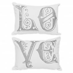 wake up frankie love pillows--i could probably do a ghetto version of these :)