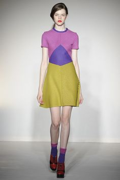 Love this. Couldn't wear it, but love it. House of Holland RTW Fall 2012 - London. Photo by Giovanni Giannoni for WWD.