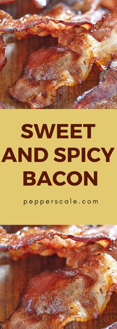 Sugar and spice, bacon so nice…It'll satiate your sweet craving. It'll fulfill your fix for fiery. Chipotle Recipes, Bacon Recipes, Appetizer Recipes, Mexican Food Recipes, Appetizers, Healthy Breakfast On The Go, How To Make Breakfast, Breakfast Recipes, Spicy Steak