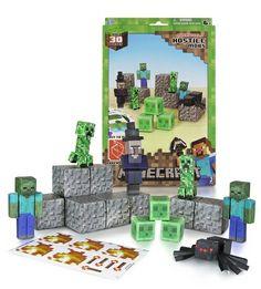 Gamerzoutlet.com - MINECRAFT PAPERCRAFT - Hostile Mobs, $14.99 (http://www.gamerzoutlet.com/minecraft-papercraft-hostile-mobs/)