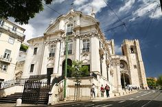 St Anthony's Church at the birthplace of Lisbon's Patron Saint