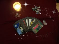 The Tarot House Deck  a lovely vibrant 78 card by patriciabhouse